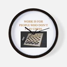 chess gifts t-shirts Wall Clock