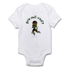Dark Green Volleyball Infant Bodysuit