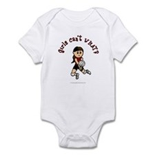 Light Red Volleyball Infant Bodysuit
