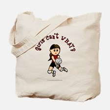 Light Red Volleyball Tote Bag