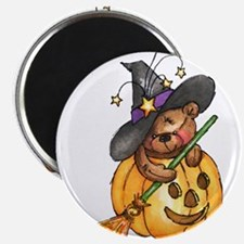 Witch Teddy Bear Magnet