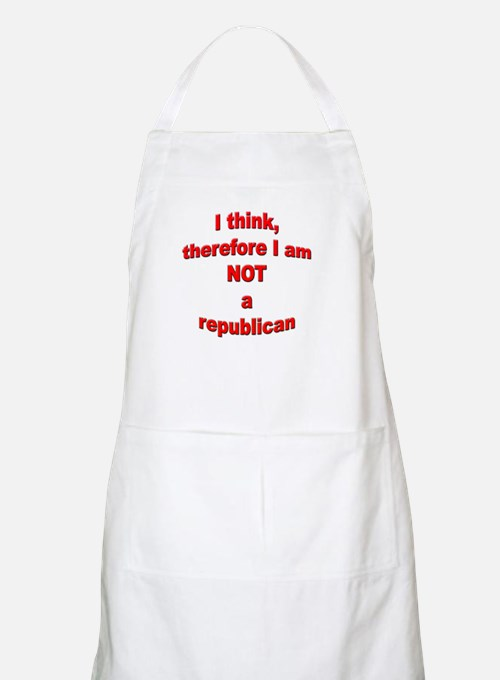 Not a Republican BBQ Apron