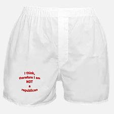 Not a Republican Boxer Shorts