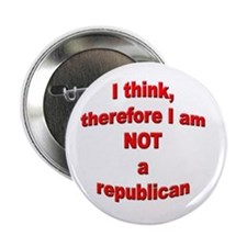Not a Republican Button