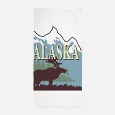 alaska Beach Towel