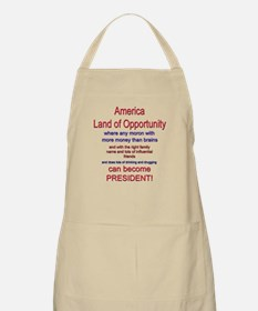 Land of Opportunity BBQ Apron