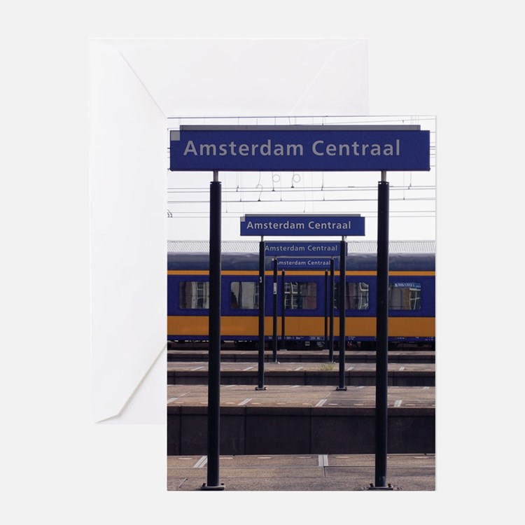 Amsterdam Centraal Greeting Cards