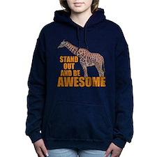 Stand Tall Giraffe Women's Hooded Sweatshirt