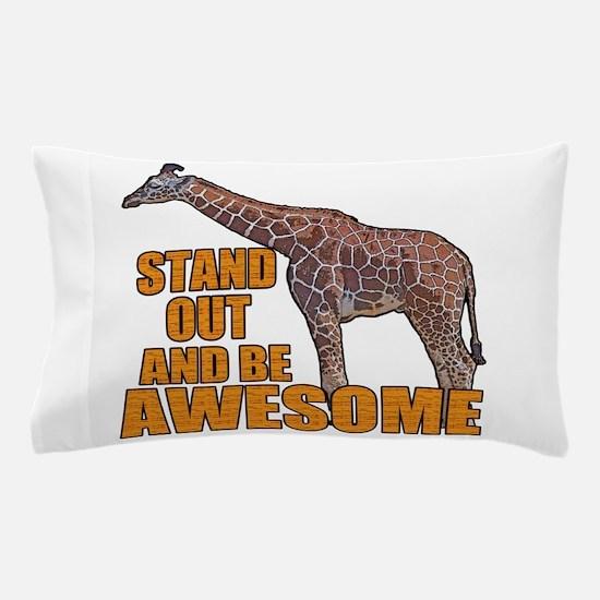 Stand Tall Giraffe Pillow Case
