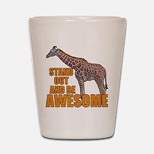 Stand Tall Giraffe Shot Glass