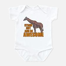 Stand Tall Giraffe Infant Bodysuit
