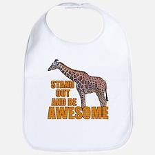 Stand Tall Giraffe Bib