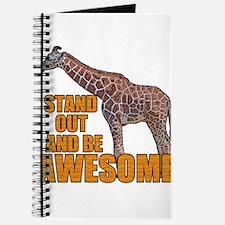 Stand Tall Giraffe Journal
