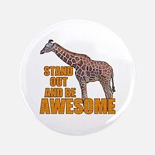 """Stand Tall Giraffe 3.5"""" Button (100 pack)"""