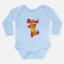 Retired Chick #5 Long Sleeve Infant Bodysuit