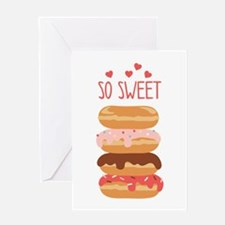 So Sweet Donuts Greeting Cards