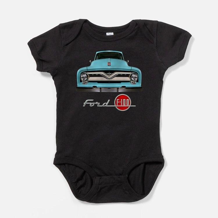 Cute Ford trucks Baby Bodysuit