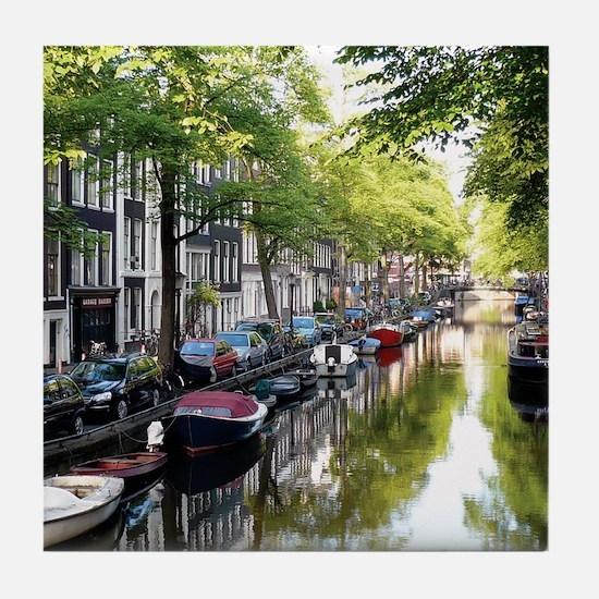 Amsterdam Dawn Tile Coaster