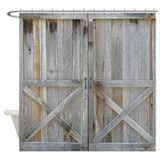 Barnwood Shower Curtains
