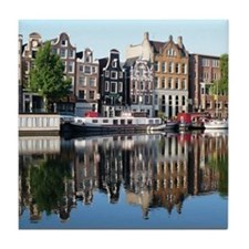Amsterdam Reflections Tile Coaster