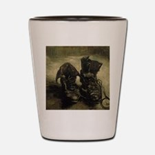 Cute Pair boots van gogh Shot Glass