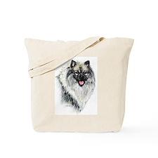 Keeshond #2 Tote Bag