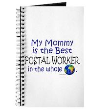 Best Postal Worker In The World (Mommy) Journal