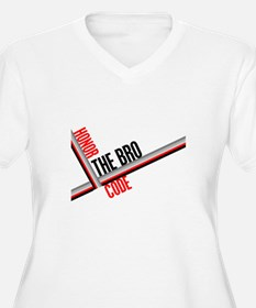 Honor the Bro Code Plus Size T-Shirt