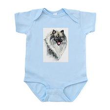 Keeshond #2 Infant Creeper