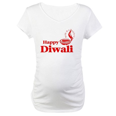 Happy Diwali Maternity T-Shirt