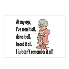 Cute Humour Postcards (Package of 8)