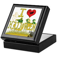 I LOVE HALLOWEEN Keepsake Box