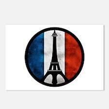 Peace in Paris 2 Postcards (Package of 8)