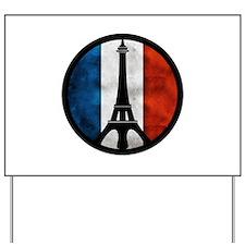 Peace in Paris 2 Yard Sign