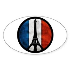 Peace in Paris 2 Decal