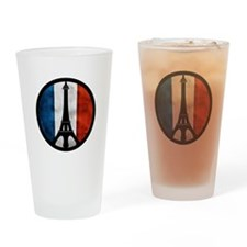 Peace in Paris 2 Drinking Glass