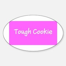 Pink Tough Cookie Breast Cancer Awarenes Decal