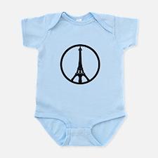 Peace in Paris Body Suit