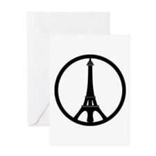 Peace in Paris Greeting Cards