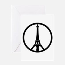 Peace in Paris Greeting Cards