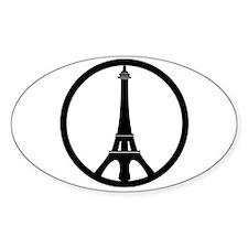 Peace in Paris Decal