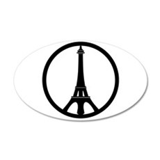 Peace in Paris Wall Decal