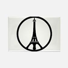Peace in Paris Magnets