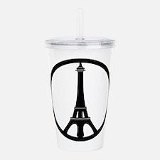 Peace in Paris Acrylic Double-wall Tumbler