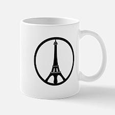 Peace in Paris Mugs