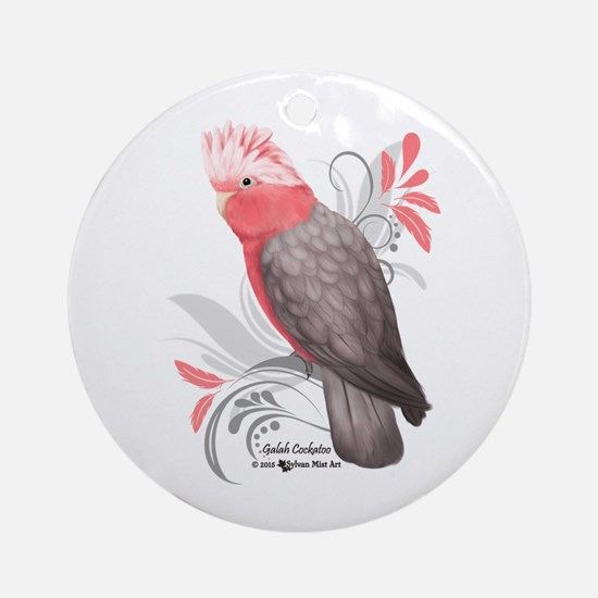 Galah Cockatoo Round Ornament