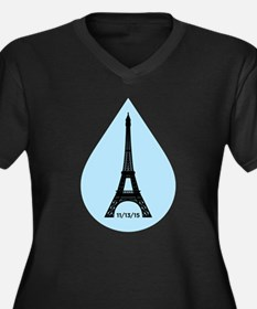 Remembering Paris Plus Size T-Shirt