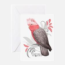 Galah Cockatoo Greeting Cards