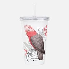 Galah Cockatoo Acrylic Double-wall Tumbler