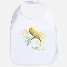 Pastel Green Parakeet Bib